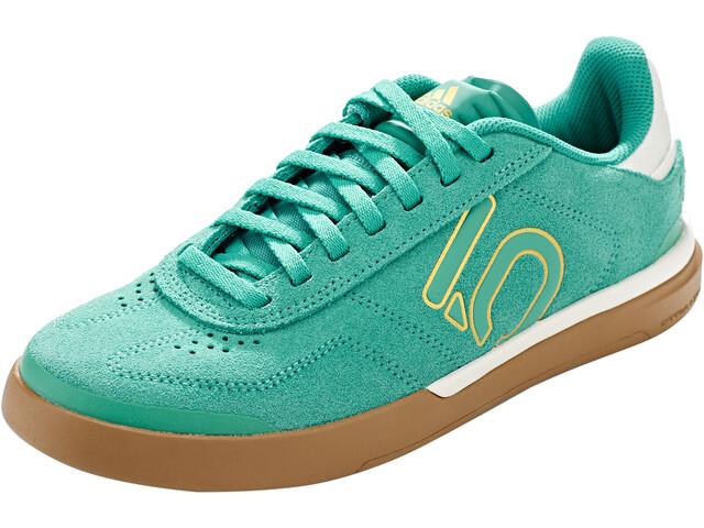 adidas Five Ten Sleuth DLX Mountainbike Schoenen Dames, trugrn/chalk white/cardbo